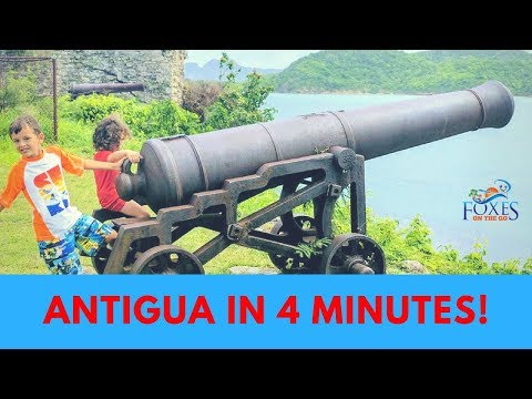 Visit Antigua in 4 minutes