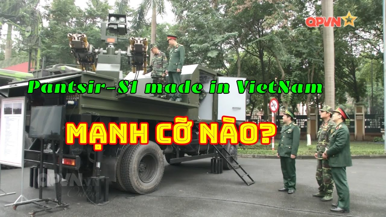"""Tên lửa """"mini Pantsir-S1 made in Vietnam"""" mạnh cỡ nào? (222)"""