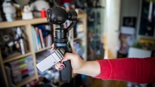 Hands-On: DJI Osmo Handheld 4K Camera thumbnail