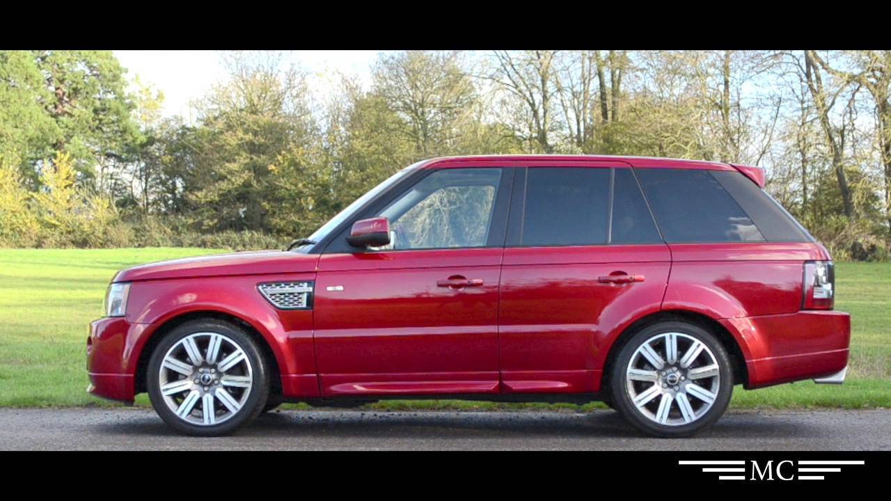 Range Rover Sport Autobiography  Marlow Cars  YouTube