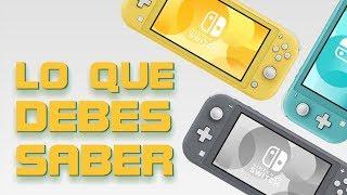 Cosas Que Debes Saber del Nintendo Switch Lite