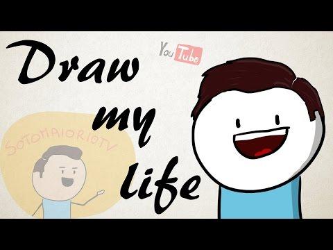 DRAW MY LIFE - Disegno la mia vita - Sotomaior10tv