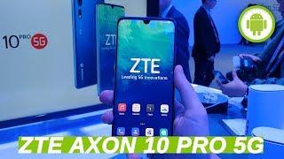 ZTE Axon 10 Pro 5G con Snapdragon 855, anteprima MWC 2019