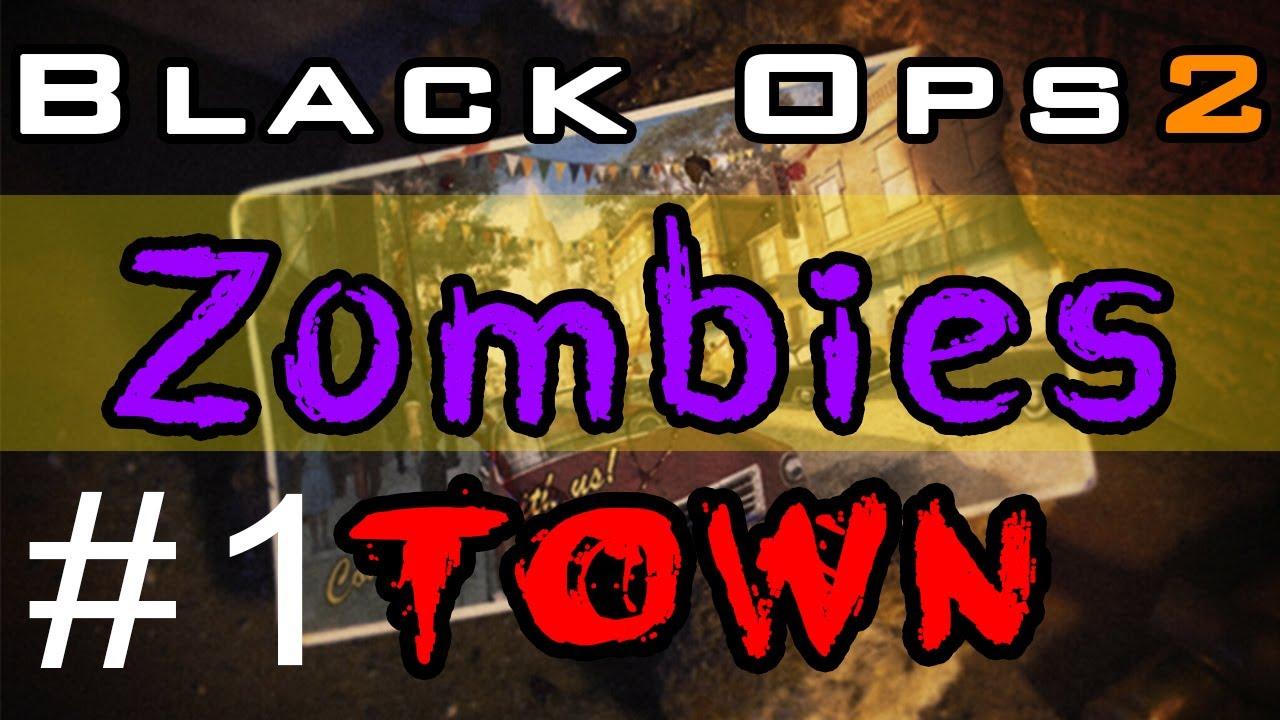 Black Ops 2 ZOMBIES: Town | Super Fast Porn Downloads! (Part 1)