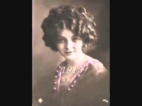 Vintage Female Fashion Portraits 1880 1939