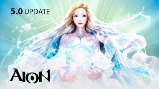 Aion 5.0 - Elyos Character Creation - F2P - KR