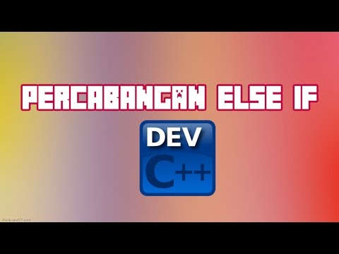 Cara Menggunakan If Else Di C++