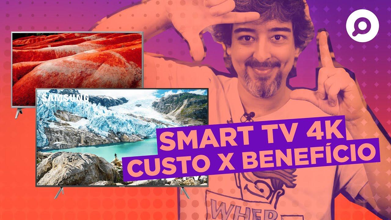 Melhores SMART TVS 4K Custo Benefício em 2019 e 2020 | DANDO UM ZOOM #160