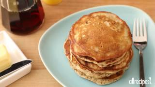 Pancake Recipes - How to Make Easy Banana Nut Pancakes