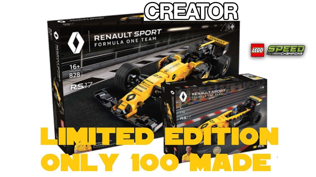 Lego Creatorspeed Champions 2018 Rs17 Renault F 1 Car