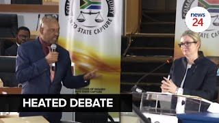 WATCH   'Shut up!' Mpofu tells Pravin Gordhan and his lawyer at Zondo commission