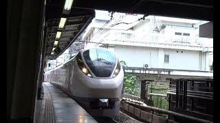 松戸駅を通過する上野東京ライン常磐線下り特急ひたちE657系