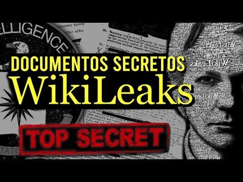 VEJA OS DOCUMENTOS SECRETOS VAZADOS PELO WIKILEAKS !!