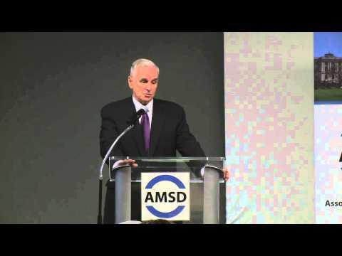 Governor Mark Dayton at AMSD Meeting: October 3, 2014