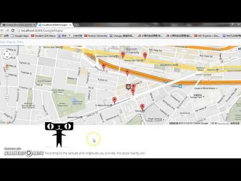 duction google map web app by Peng Lin