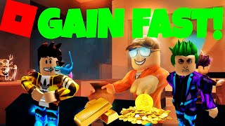 GAIN FAST IN JAILBREAK! (Roblox)