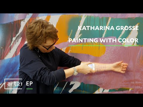 Katharina Grosse: Painting With Color | Art21