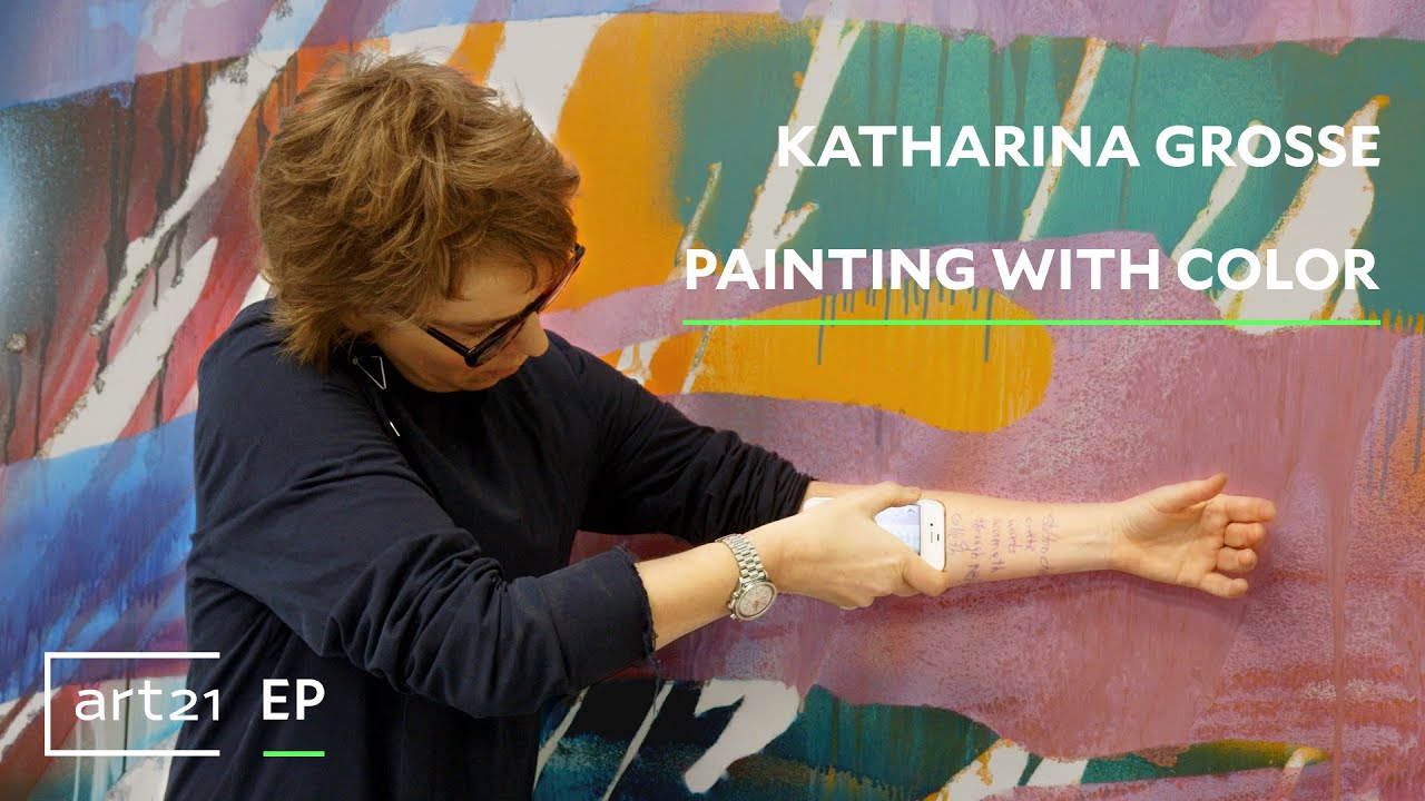 """katharina grosse: painting with color 