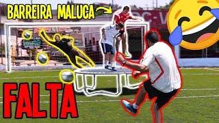 Desafio de FALTA na BARREIRA MALUCA Part.2 - com GINGA-STREET!!
