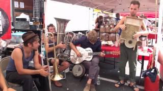 "Tuba Skinny - ""Careless Love"" 8/5/12 Rhinebeck  Market  - MORE at DIGITALALEXA channel"