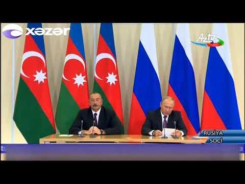Azərbaycan prezidenti İlham Əliyev Rusiyada rəsmi səfərdə olub