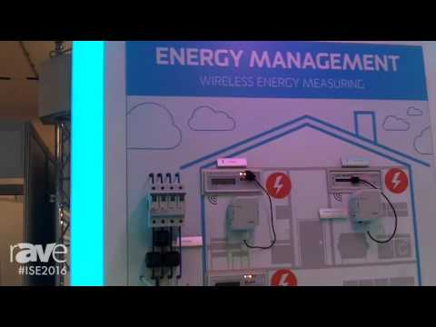 ISE 2016: iNELS Smart Home Solutions Introduces Energy Management System