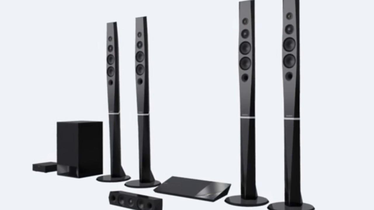 Blu Ray Home Theatre Cinema System With Bluetooth Sony Bdv N9200w N9200wl
