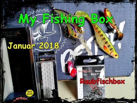 My Fishing Box Raubfischbox Januar 2018