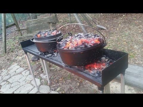 Dutch Oven Ribs & BBQ.....
