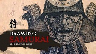 Drawing samurai