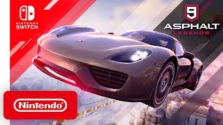 Asphalt 9: Legends - Launch Trailer - Nintendo Switch