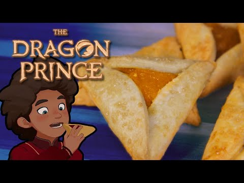 ROAR! How to make JELLY TARTS from The Dragon Prince!