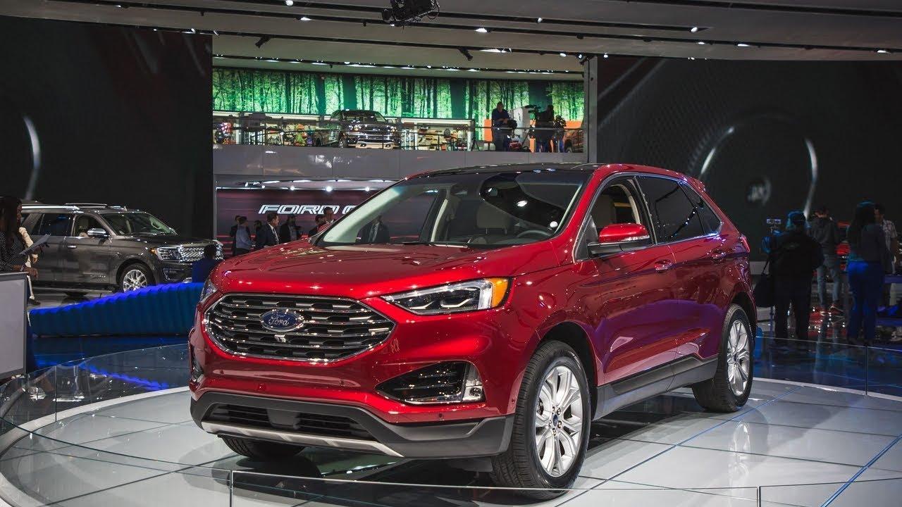 2019 Ford Edge Colors