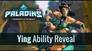 Paladins - Ying - Ability Reveal