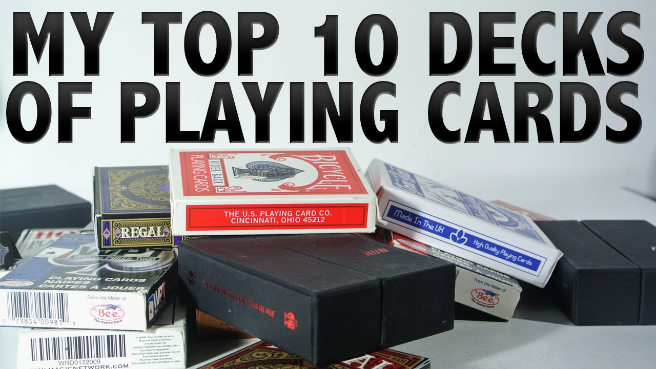 My top 10 decks of playing cards 2015 hd doovi for Best cards for 2015