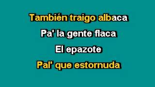 karaoke SONORA MATANCERA El yerberito moderno