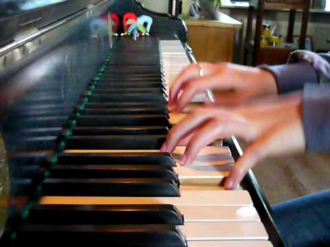 I never knew his name piano music by Melissa 12 years old.