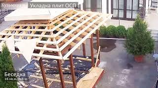 Строительство беседки 4х4 м от Терем