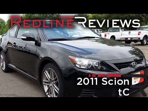 2011 Scion Tc Review Walkaround Exhaust Test Drive Youtube