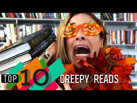 Top 10 Creepy Reads for Halloween | The Graveyard Book, Asylum & More!
