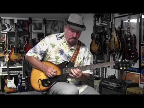 1963 Gibson Melody Maker Guitar Demo