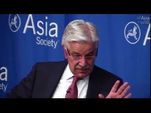 Foreign Minister of Pakistan Khwaja Asif lashes US on Afghanistan Issue