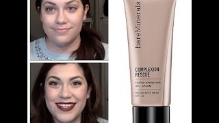 Bare Minerals Complexion Rescue Gel Review for Dry Skin - JustJenMakeup