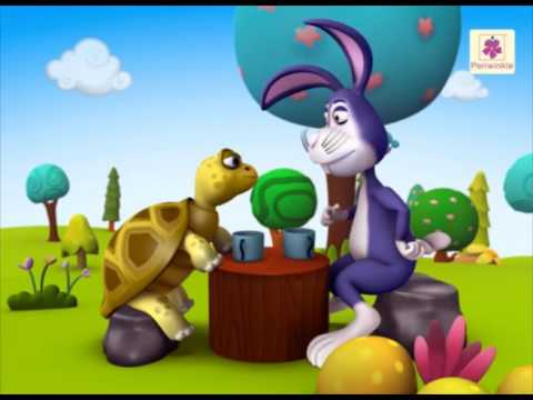 The Hare And The Tortoise A 3d English Story For Children