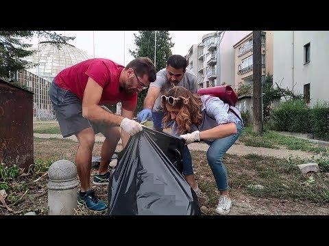 """""""Не биди ѓубре"""" го чисти Скопје"""