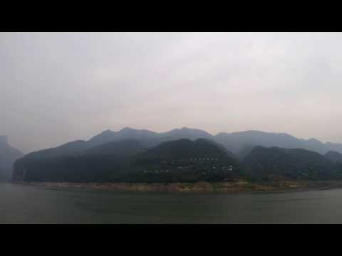 Wu and Qutang Gorges on Yangtze River - China
