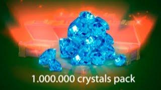 Танки Онлайн 1000000 Кристаллов Играть