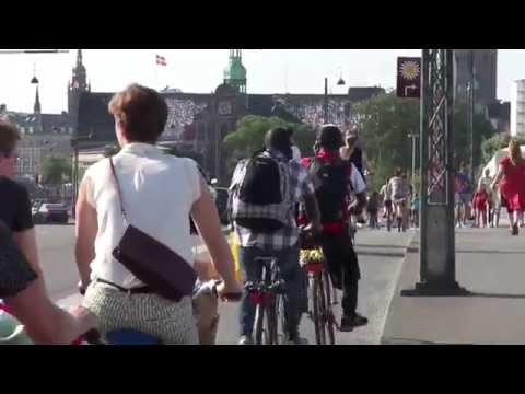 Journey Around Copenhagen's Latest Bicycle Innovations!