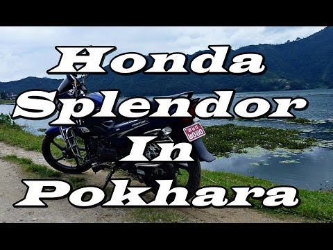 Honda Splendor Thrashed!! / Pokhara, Nepal