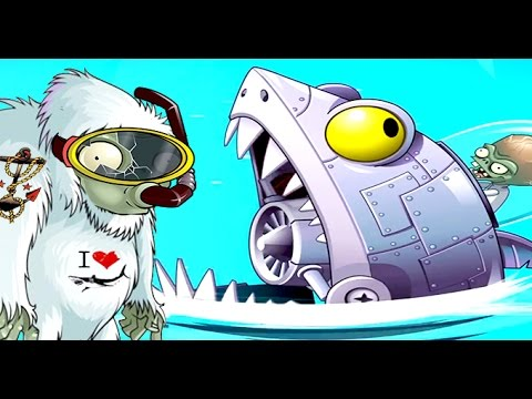 Plants Vs. Zombies 2 - Yeti Vs Sharktronic Sub